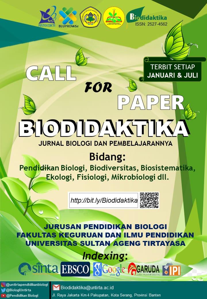 Announcement Biodidaktika